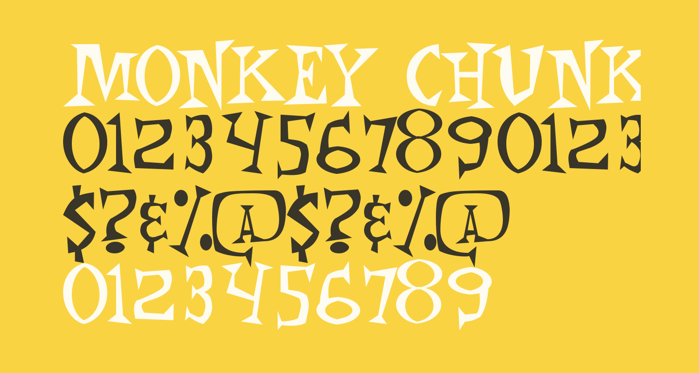 Monkey Chunks