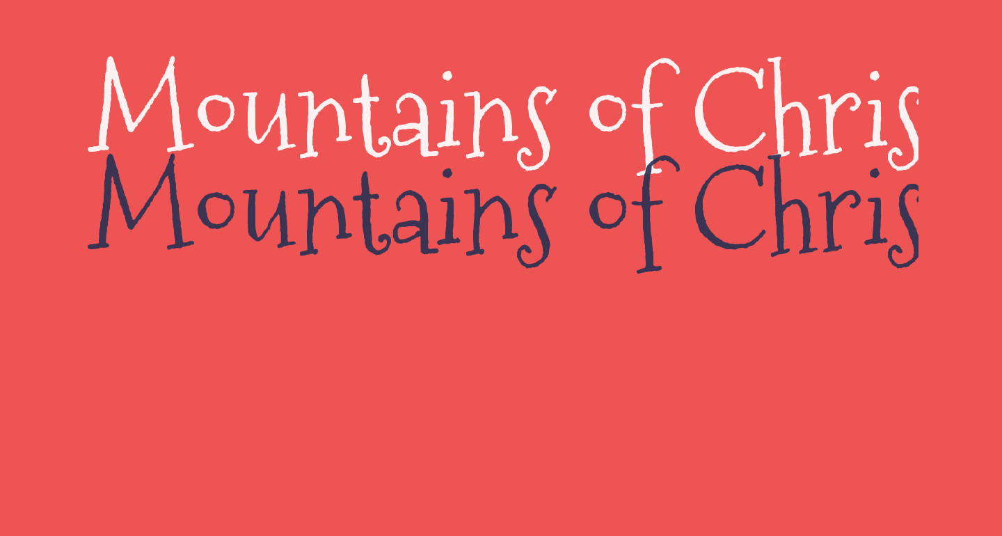 Mountains of Christmas