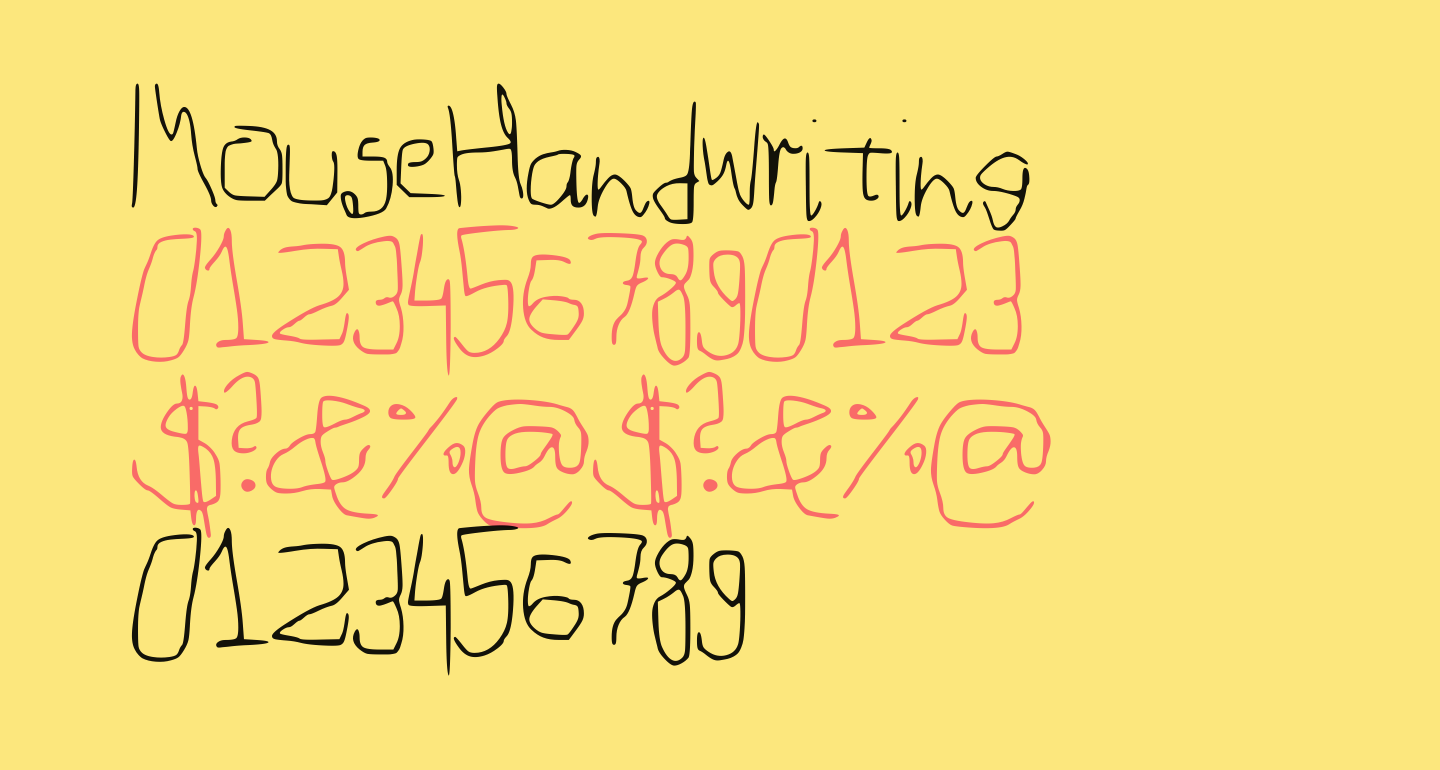 MouseHandwriting