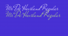 Mr De Haviland Regular