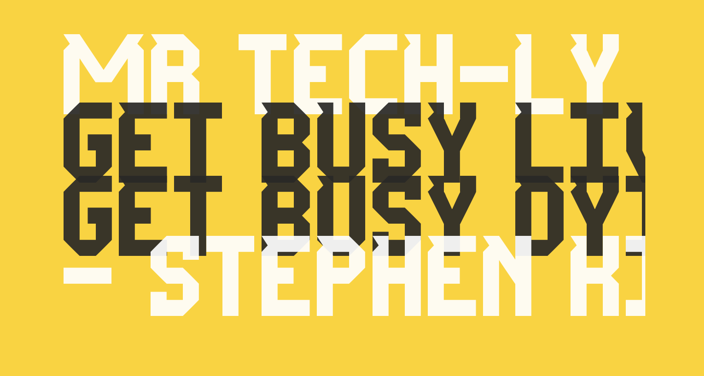 Mr Tech-Ly St