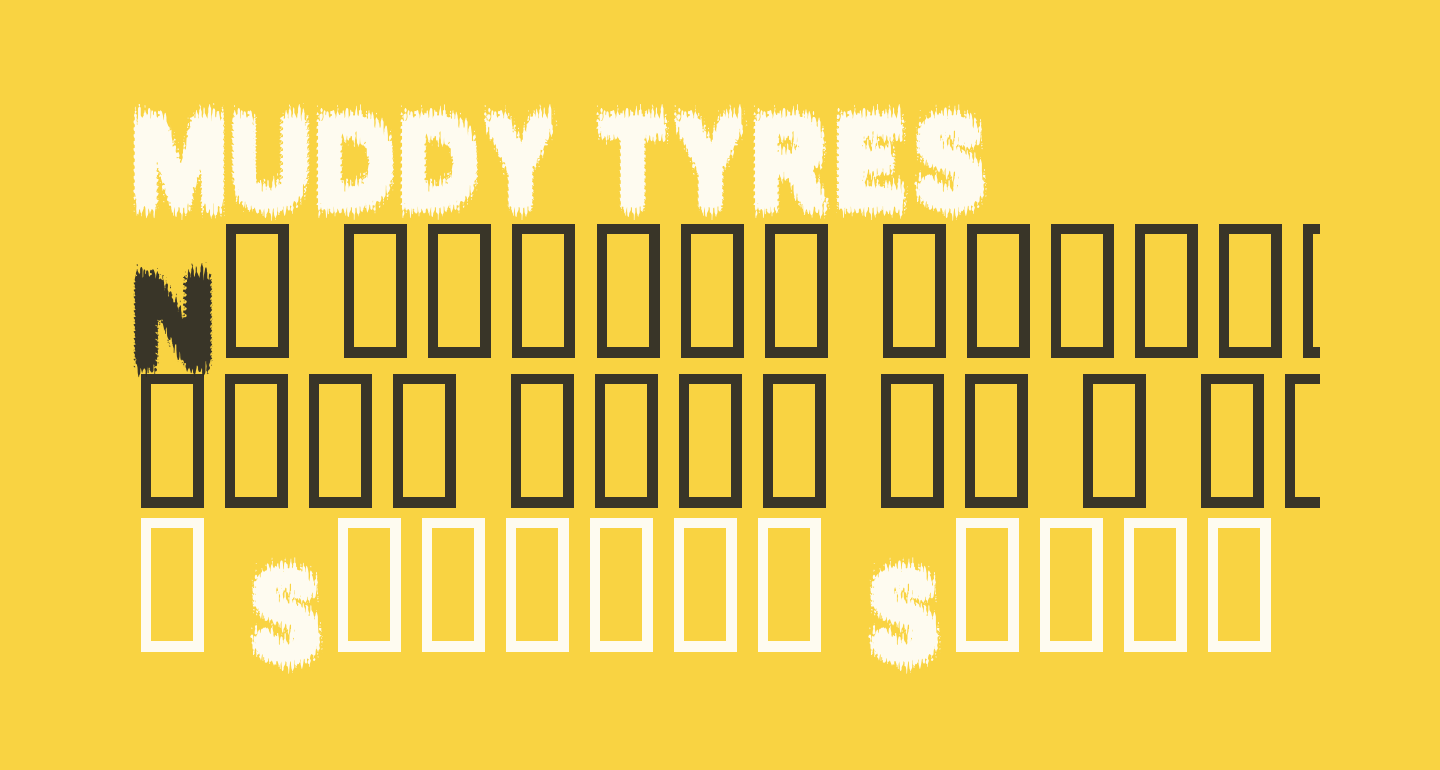 MUDDY TYRES