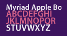 Myriad Apple Bold