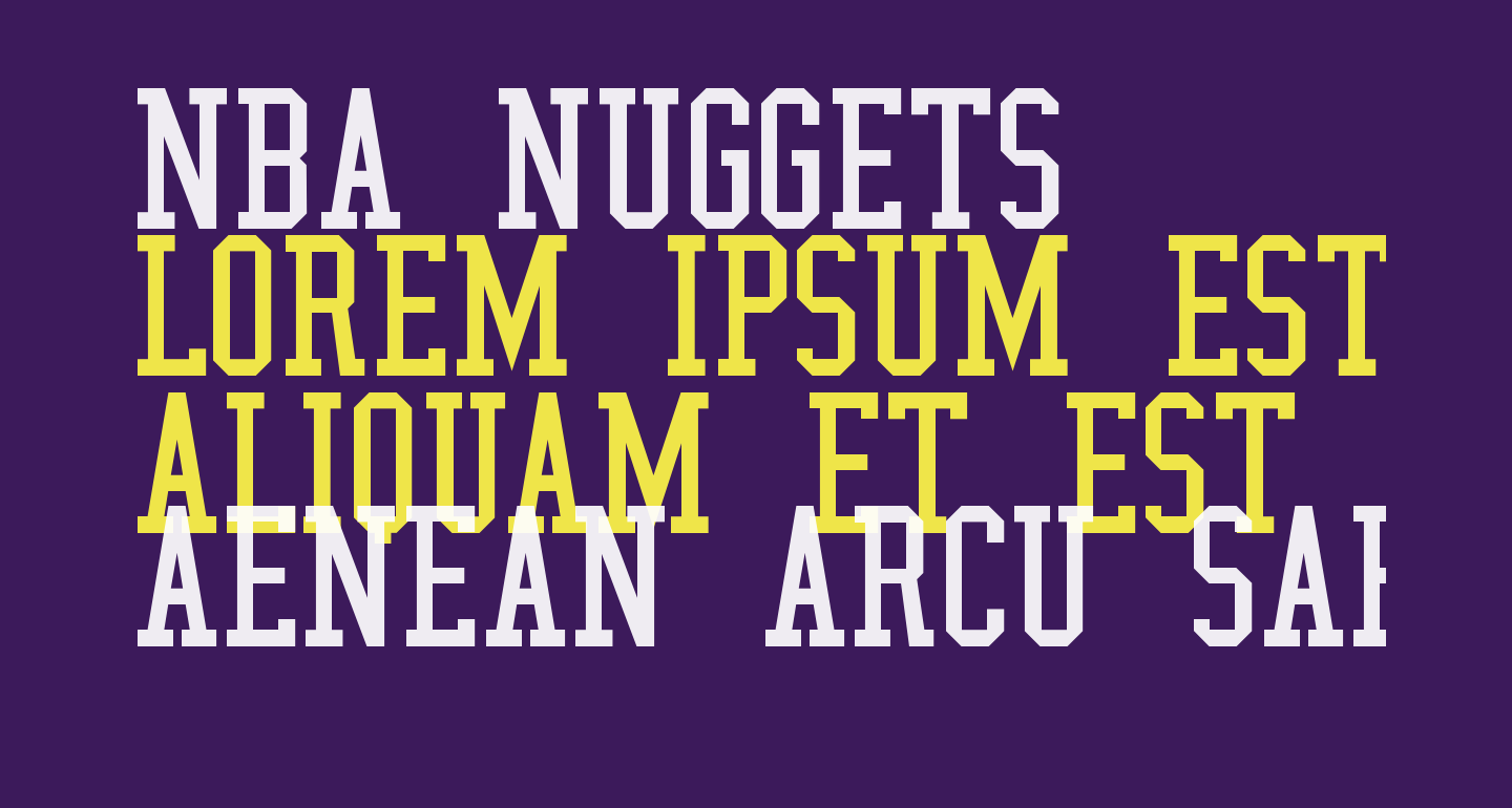 NBA Nuggets