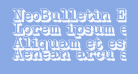 NeoBulletin Extruded