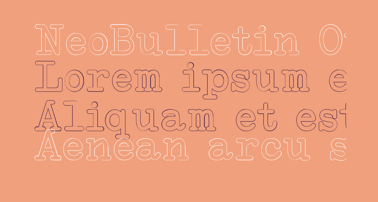 NeoBulletin Outline
