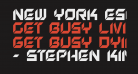 New York Escape Condensed