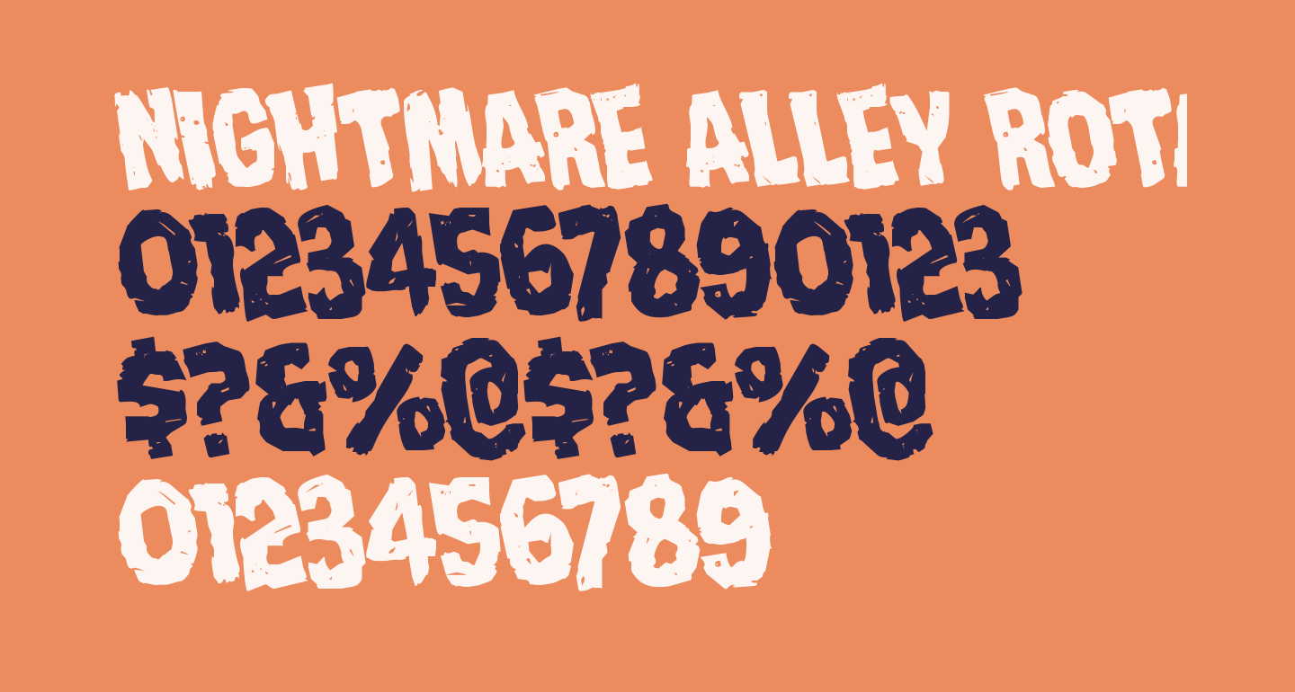 Nightmare Alley Rotated
