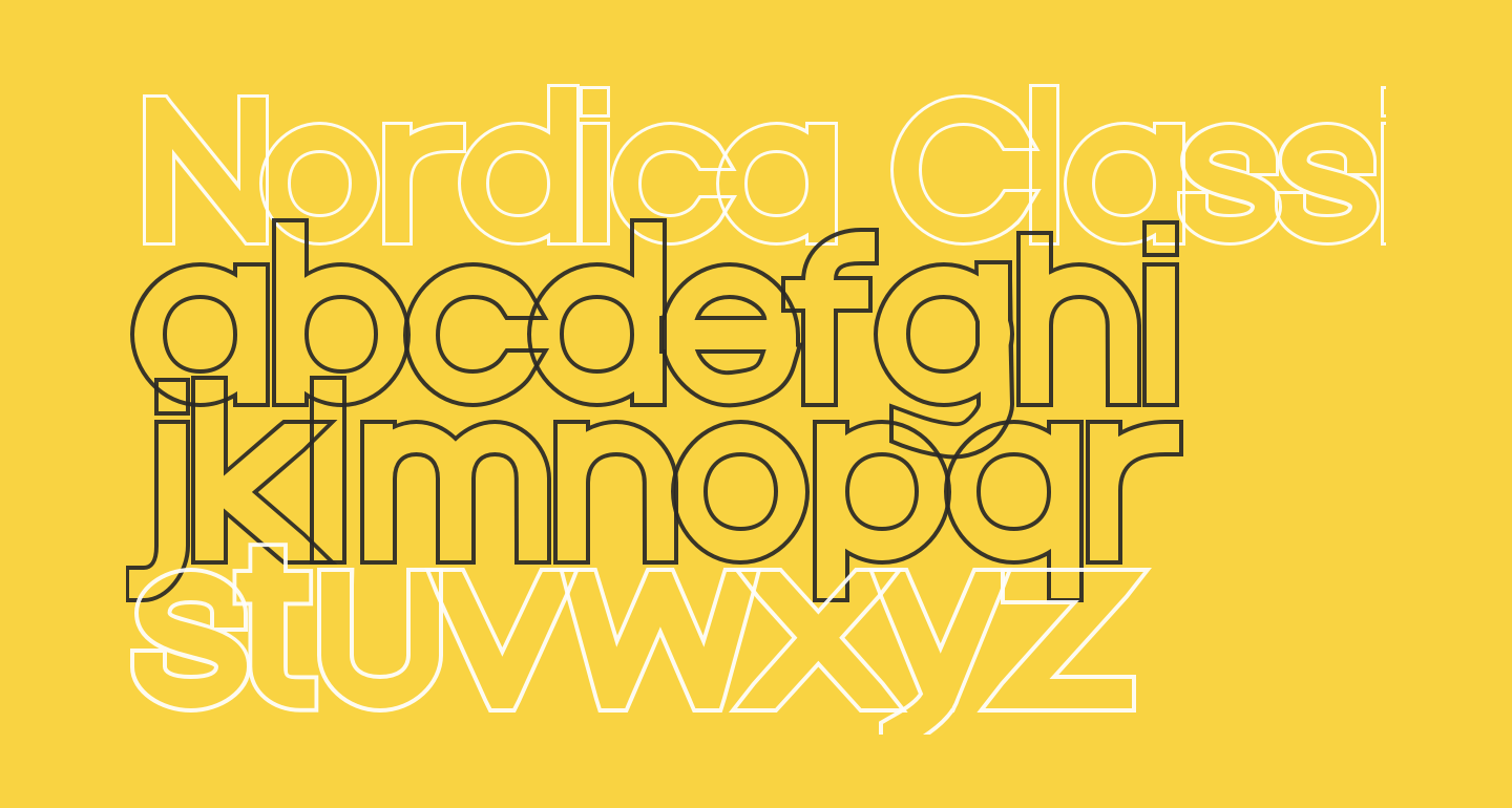 Nordica Classic Regular Extended Outline