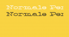 Normale Personal Use
