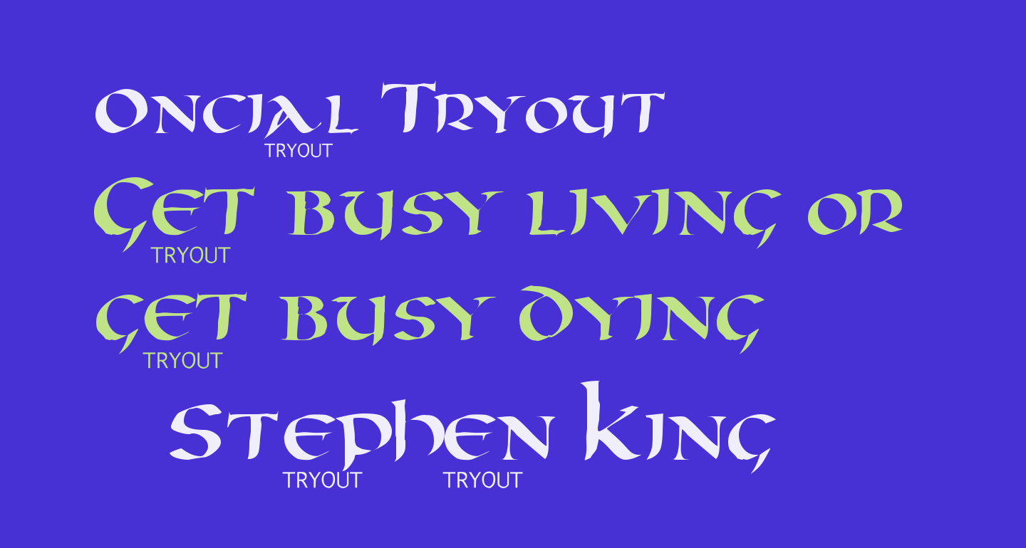 Oncial Tryout