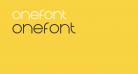 Onefont