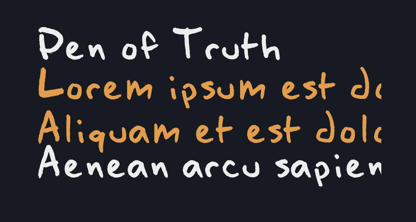 Pen of Truth