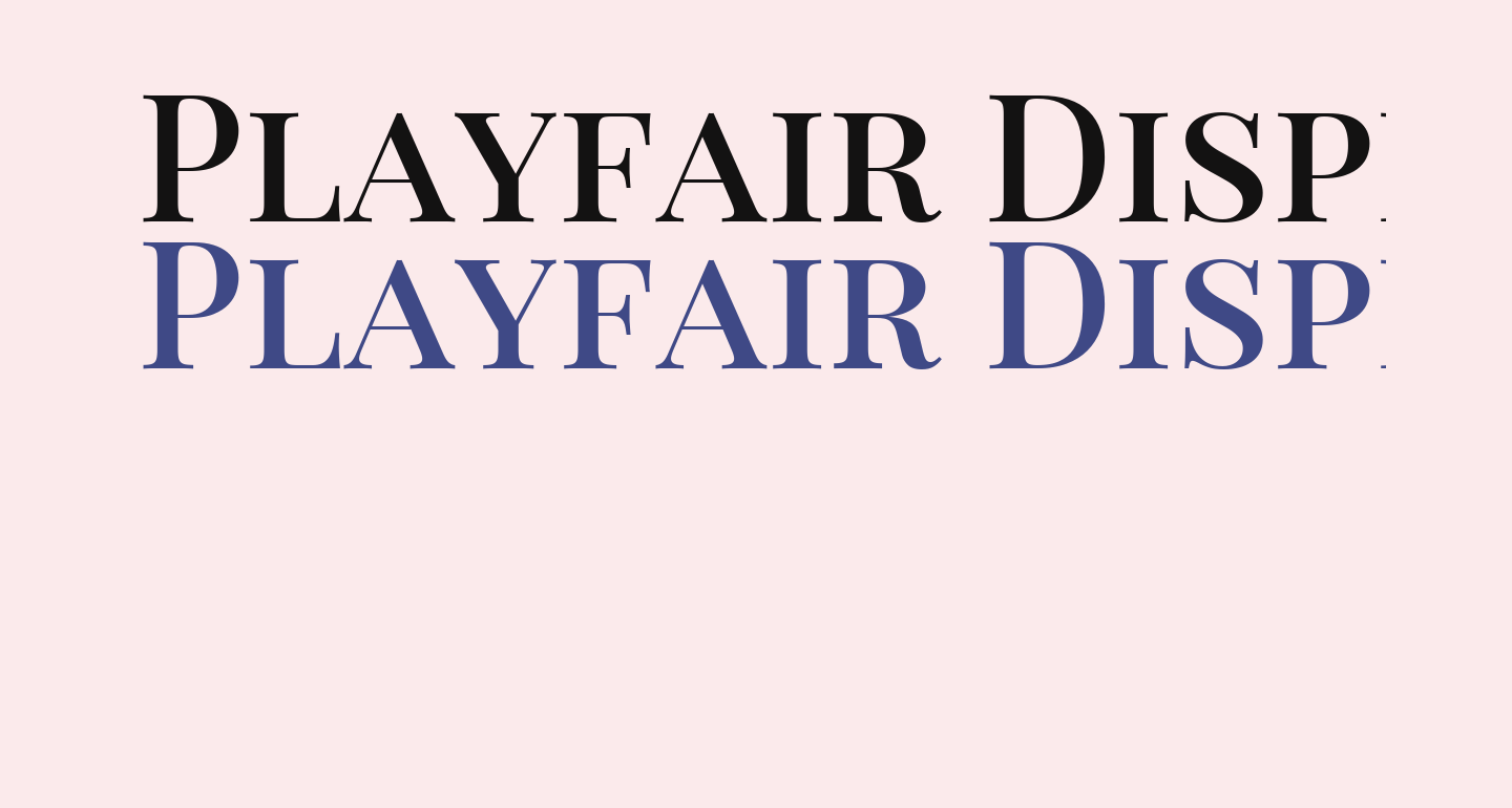 Playfair Display SC SemiBold