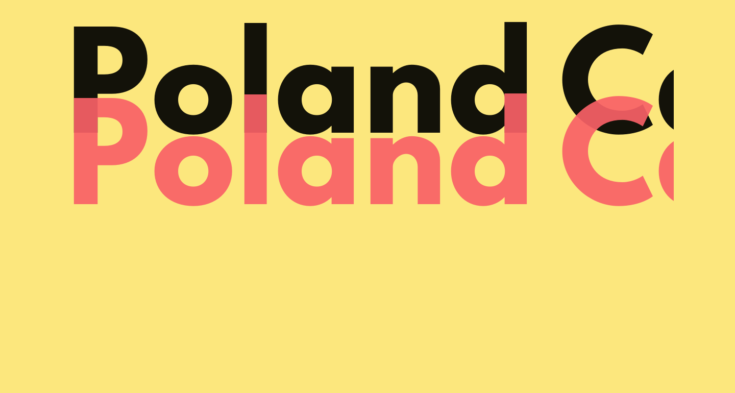 Poland Can Into Big Writings