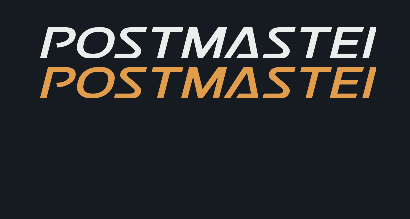 Postmaster Expanded