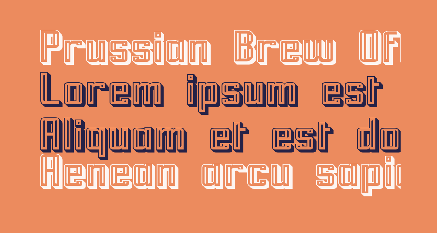 Prussian Brew Offset