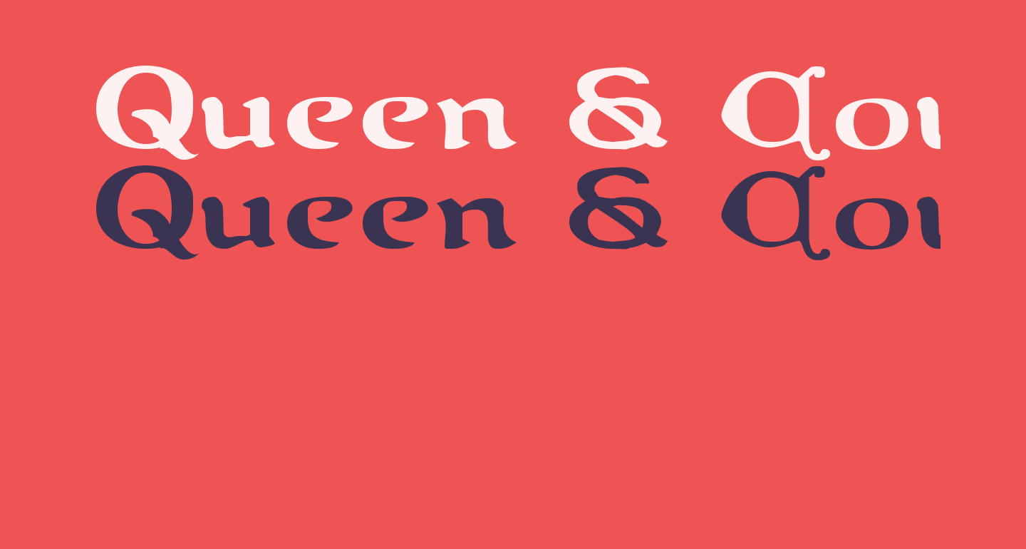 Queen & Country Expanded