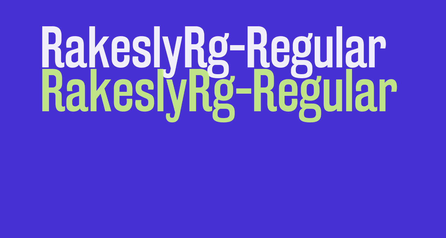 RakeslyRg-Regular