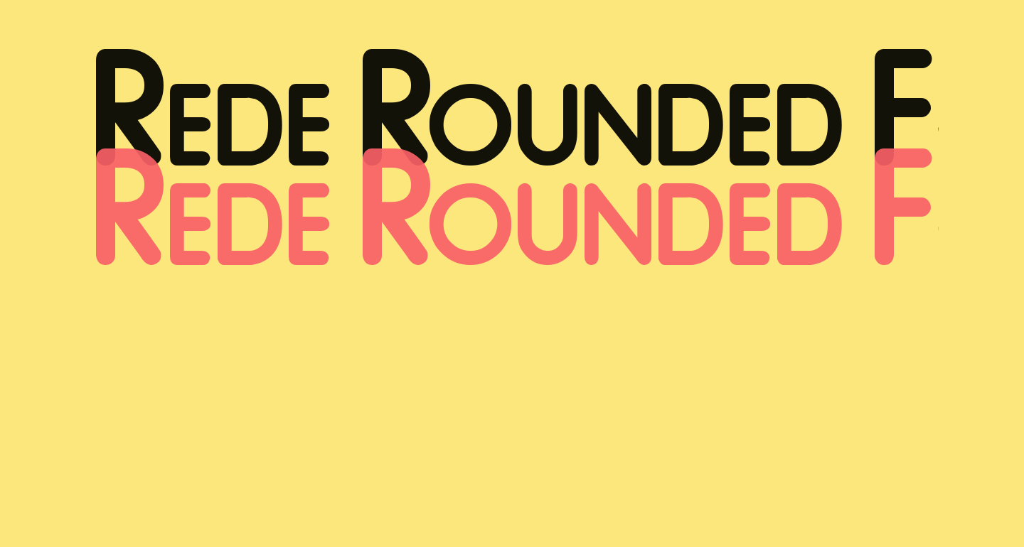 Rede Rounded F48
