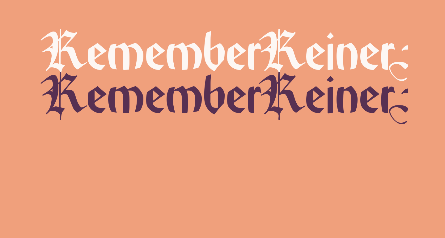 RememberReinerFS