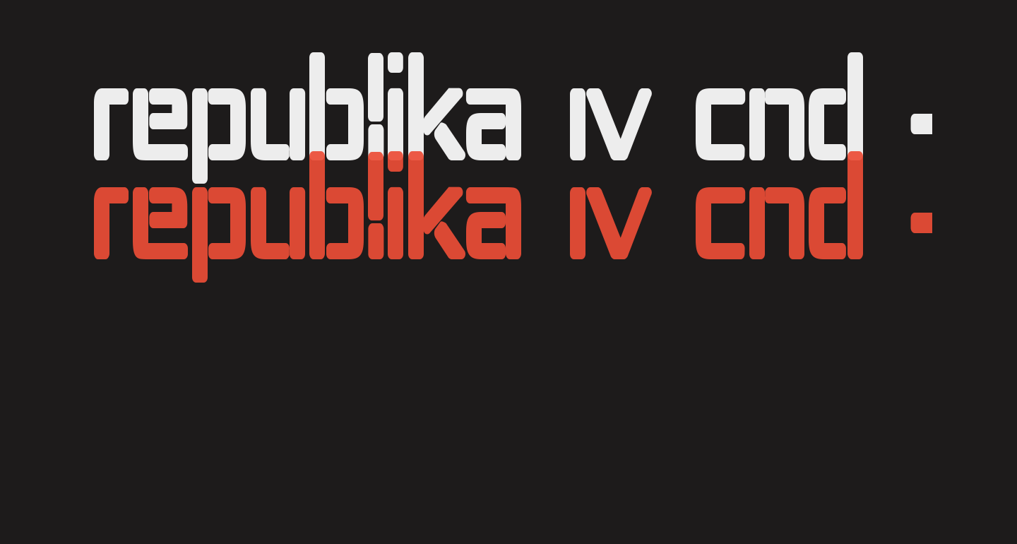 Republika IV Cnd - Ultra