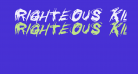 Righteous Kill Italic