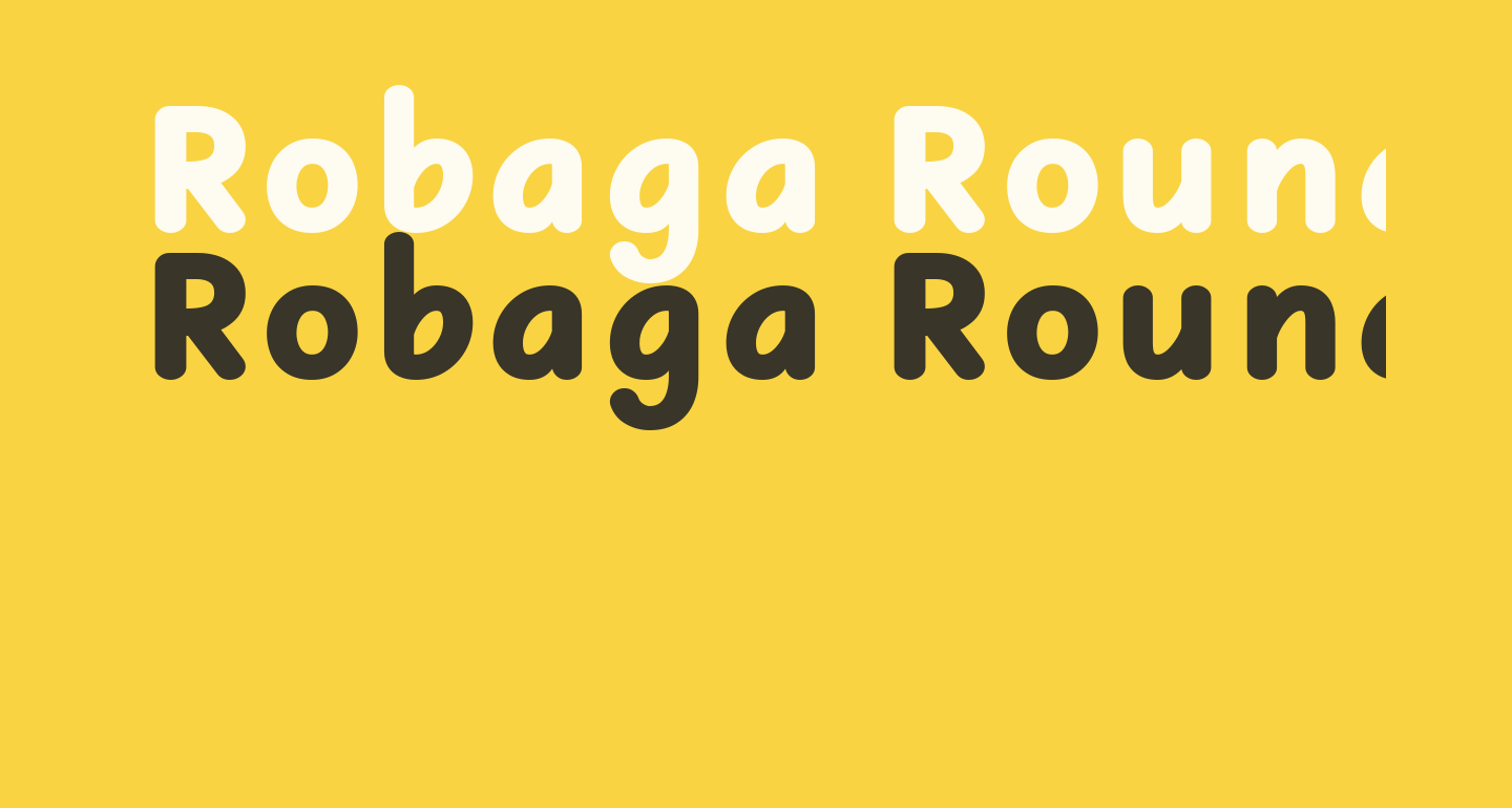 Robaga Rounded Black