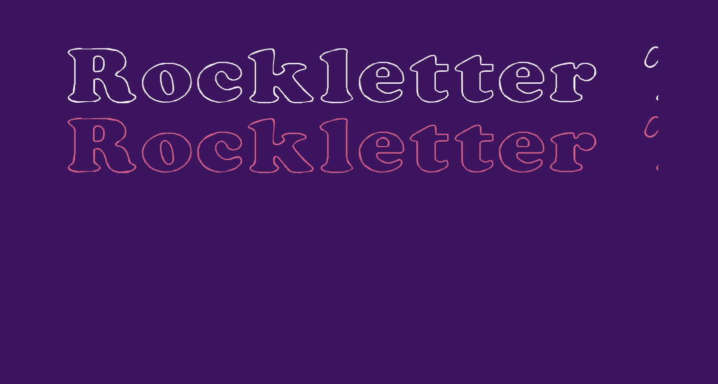 Rockletter Transparent