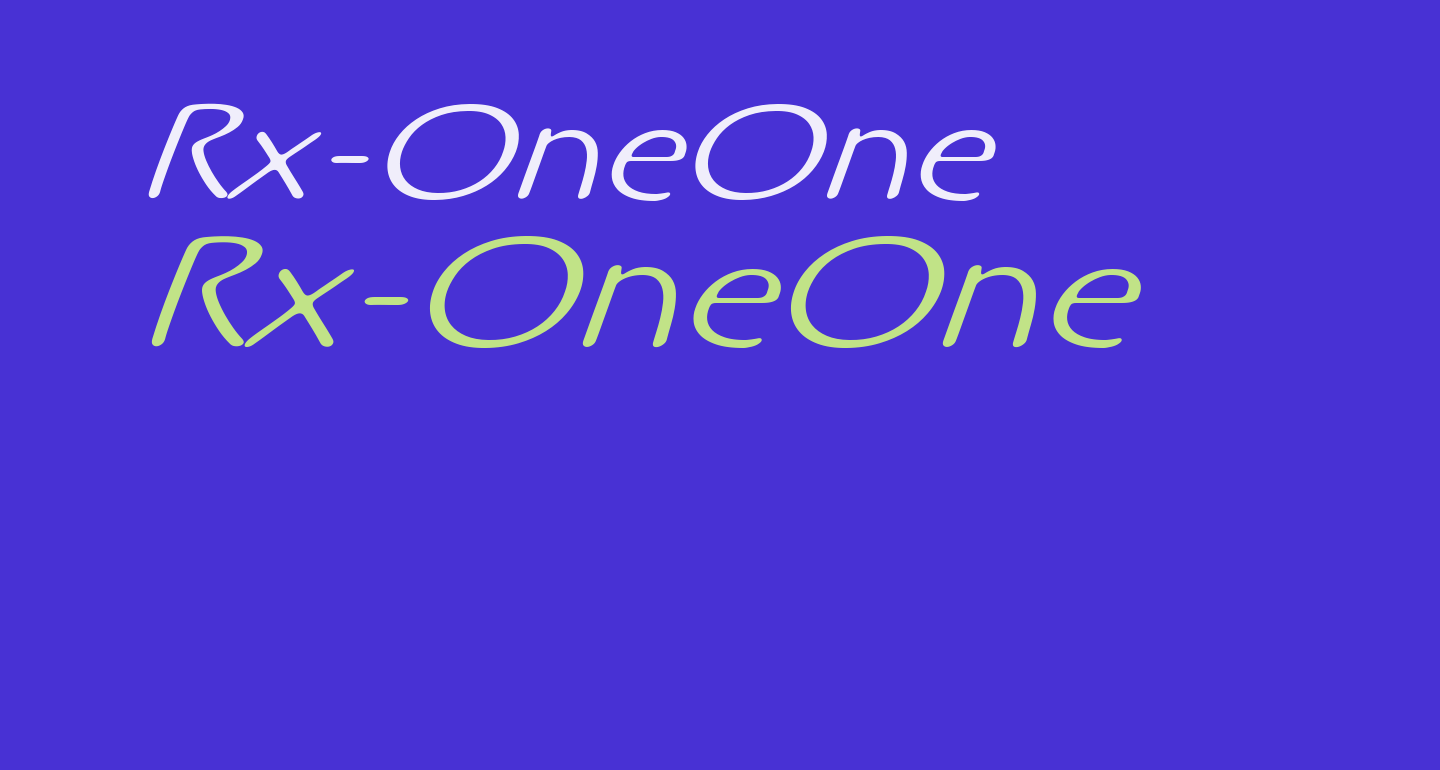 Rx-OneOne