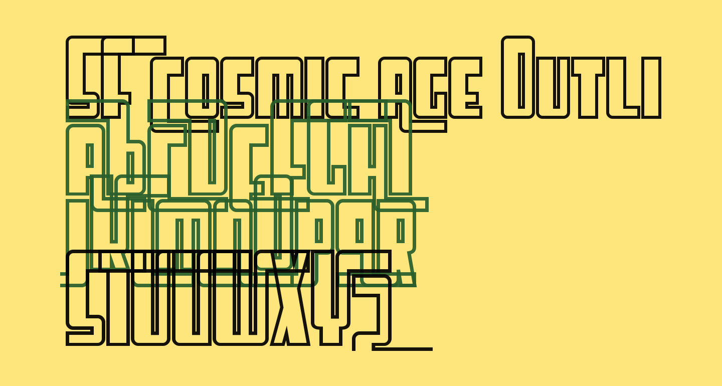SF Cosmic Age Outline
