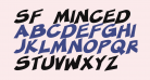 SF Minced Meat Bold Oblique