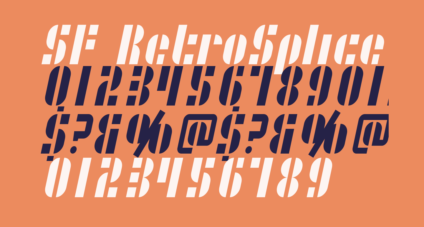 SF RetroSplice Condensed