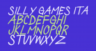 Silly Games Italic
