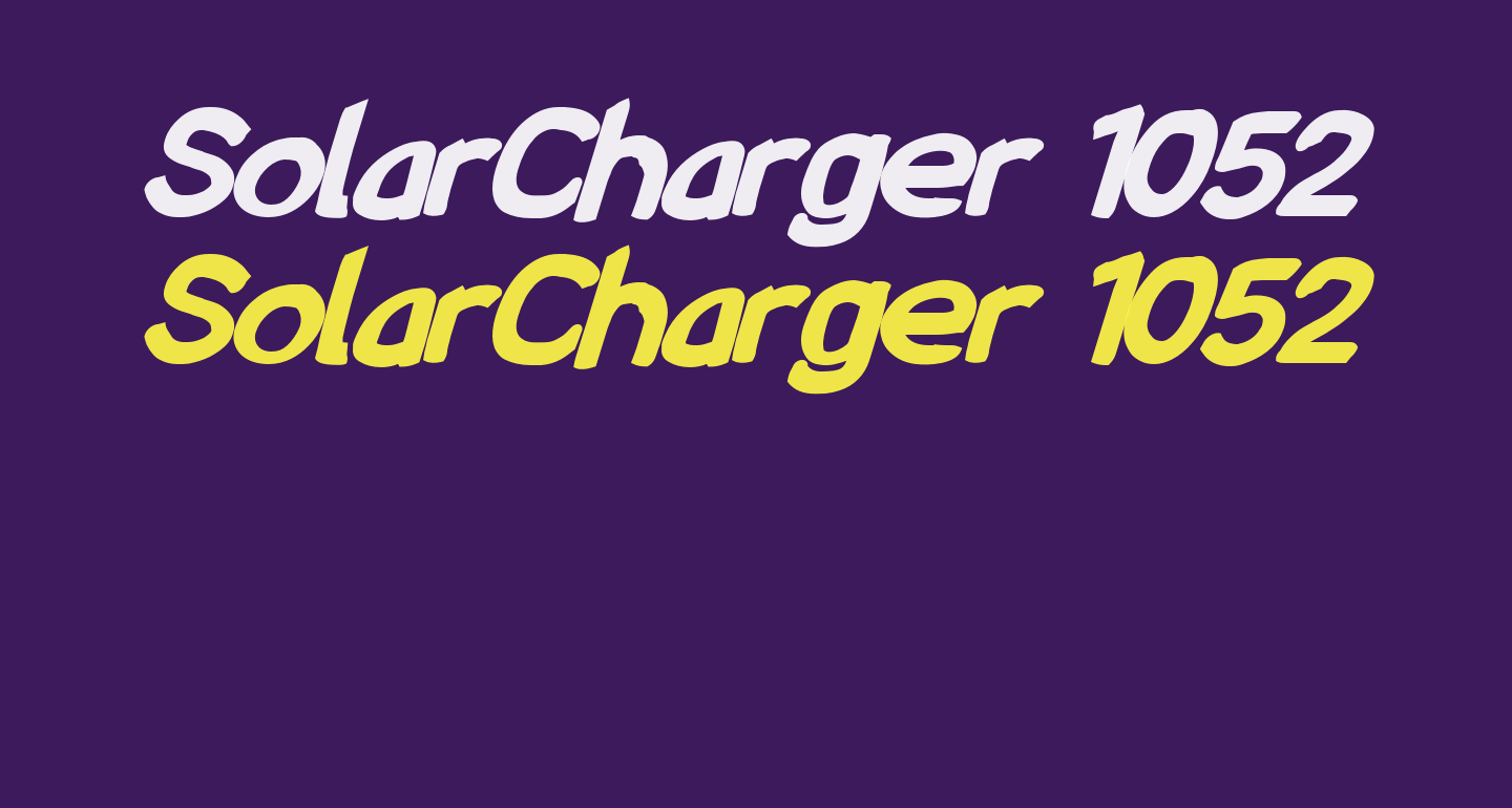 SolarCharger 1052 Nord