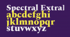 Spectral ExtraBold