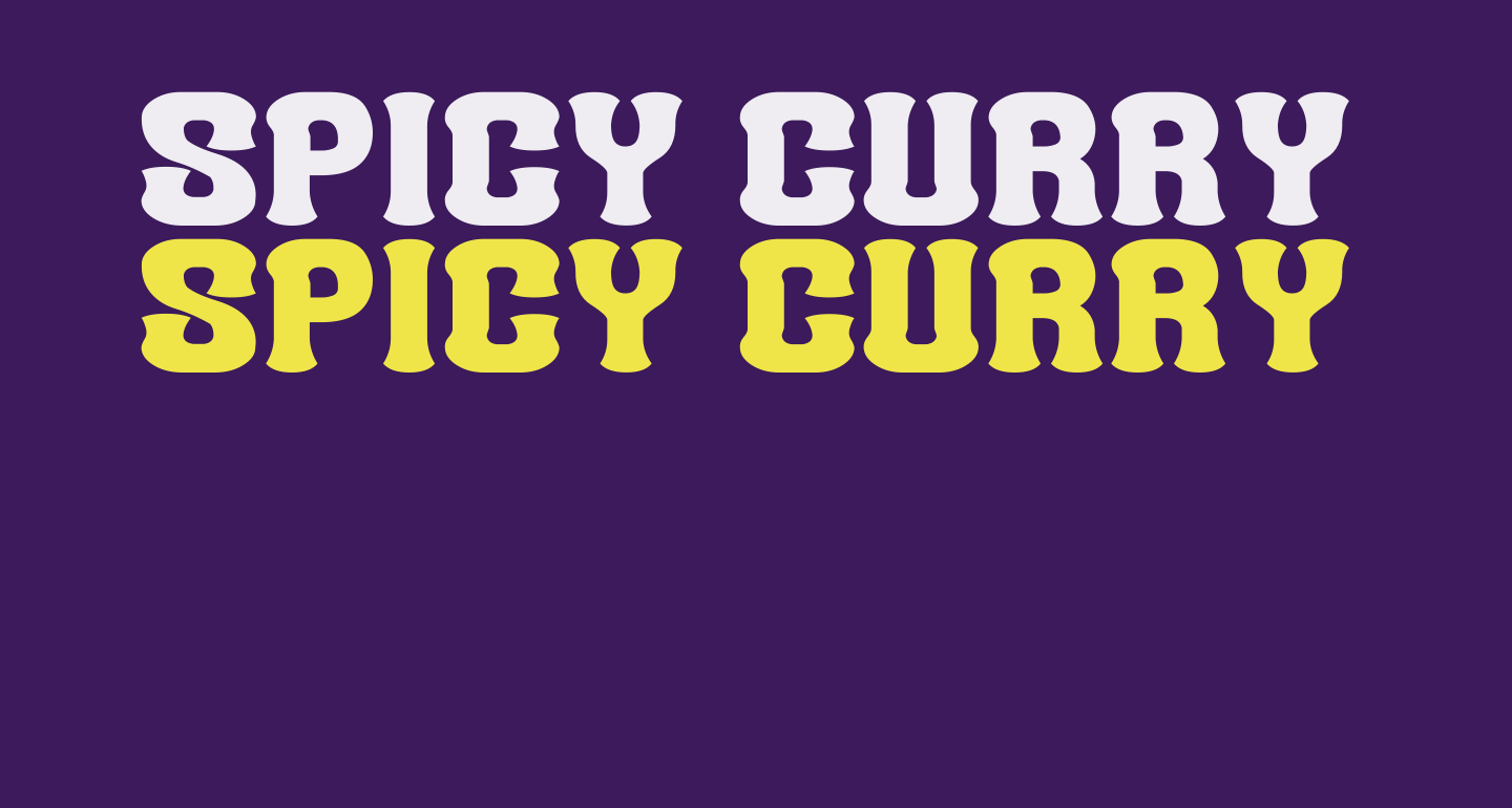 Spicy Curry Rice__G