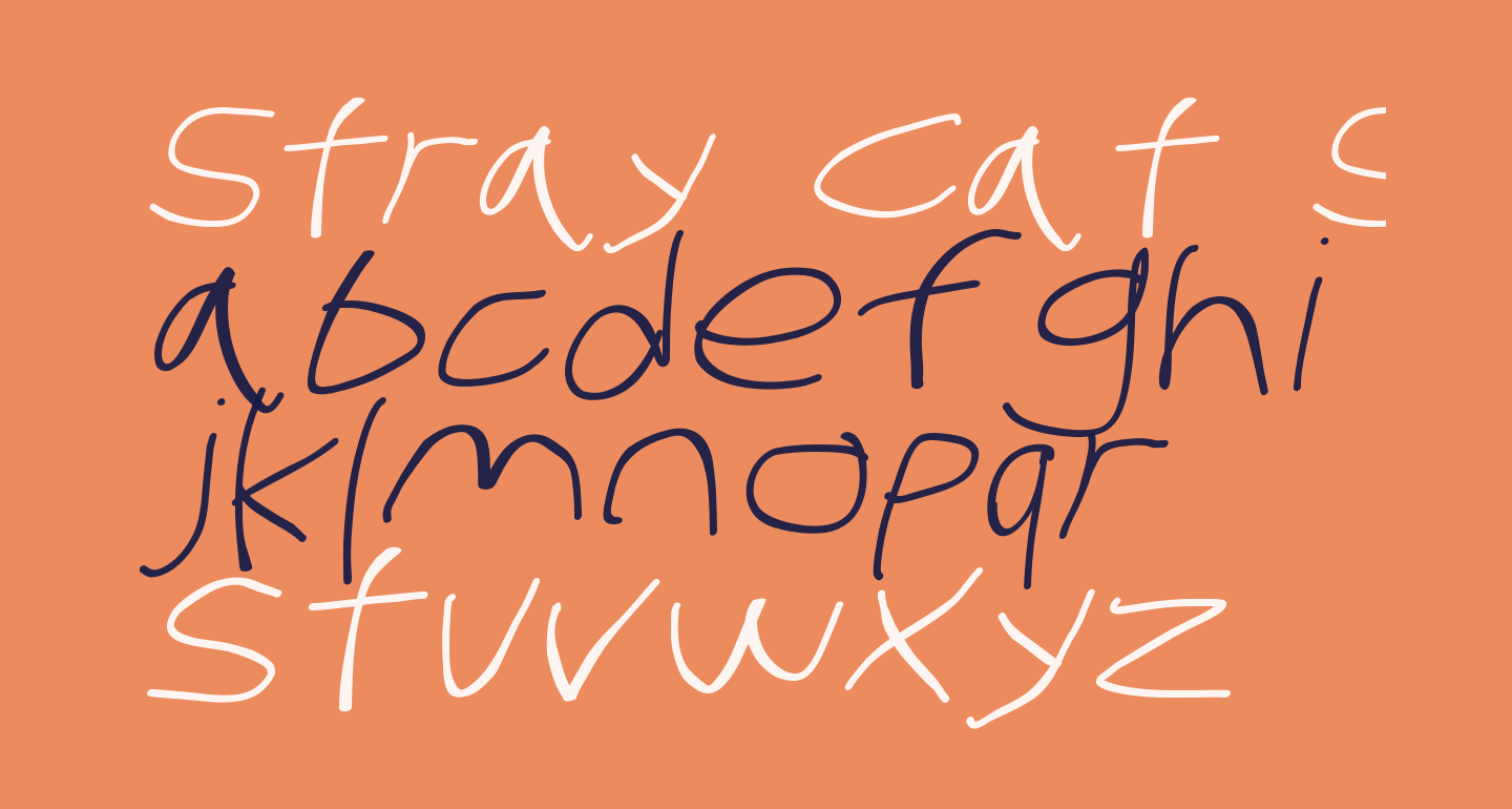 Stray Cat SuperExtended Oblique