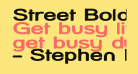 Street Bold Expanded