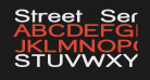 Street  SemiBold Expanded