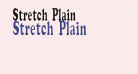 Stretch  Plain