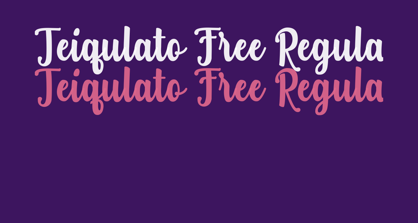 Teiqulato Free Regular