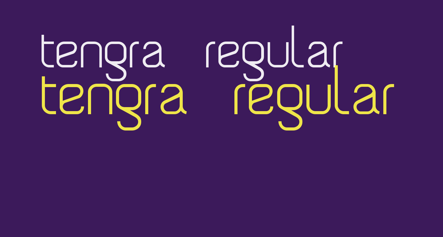Tengra - Regular