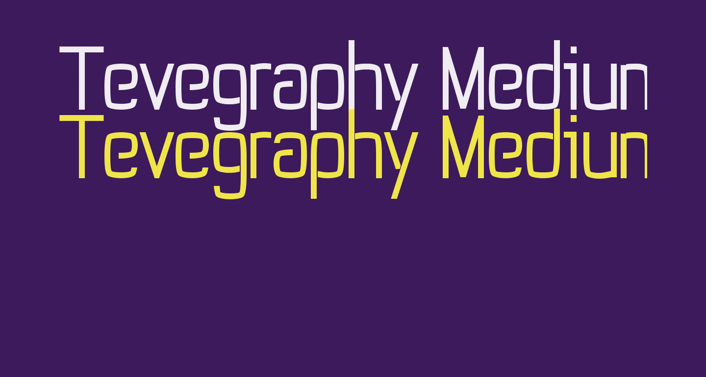 Tevegraphy Medium