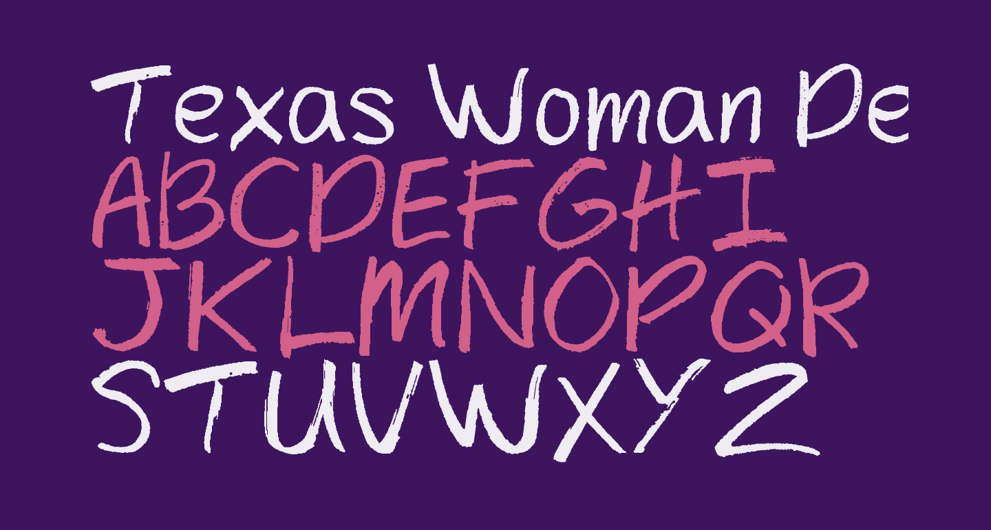Texas Woman Demo
