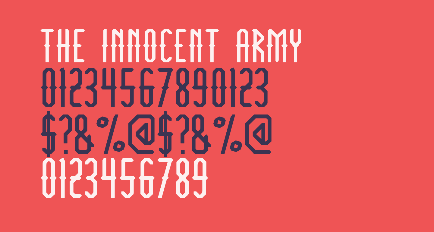 THE INNOCENT ARMY