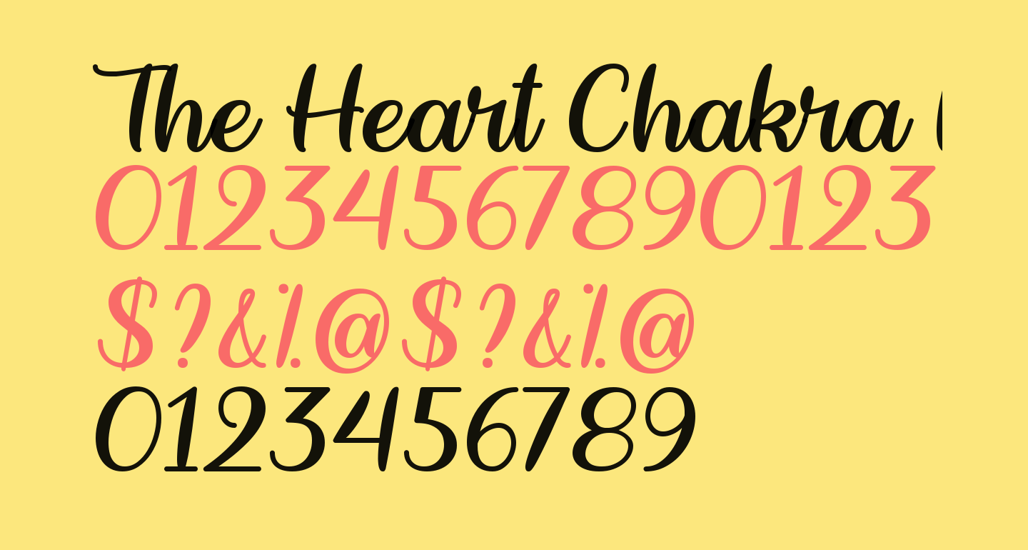 The Heart Chakra Regular