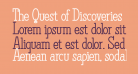 The Quest of Discoveries