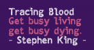 Tracing Blood