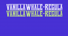 VanillaWhale-Regular